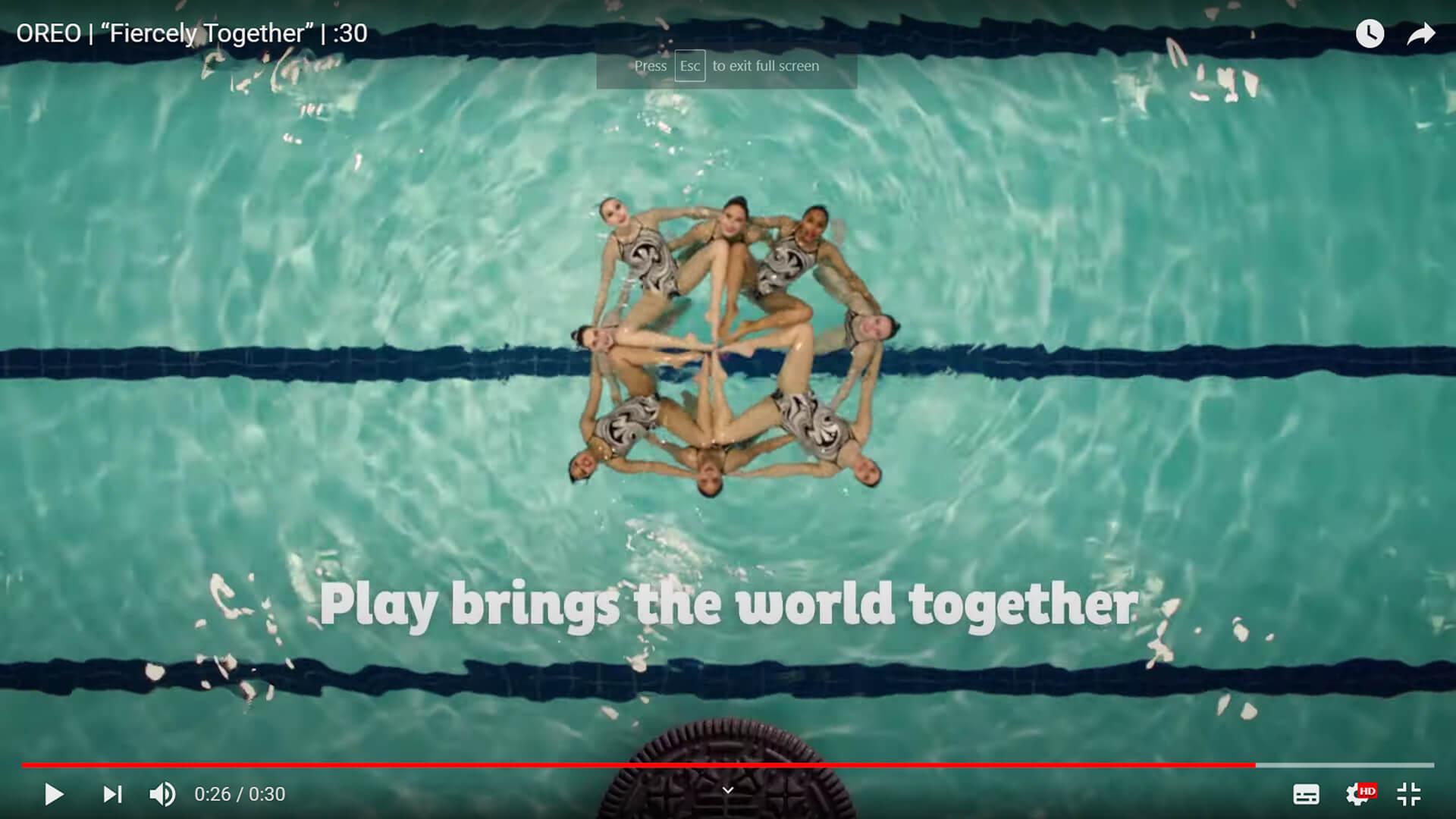 OREO YouTube Ad